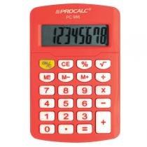 Calculadora Pessoal 8 Dígitos Laranja PC986-O - Procalc - Procalc