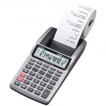 Calculadora Portátil Casio HR-8TM 1,6 Linhas por Segundo Mini-Impressora Cinza - Casio