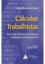 Calculos Trabalhistas - Livraria Do Advogado - 1