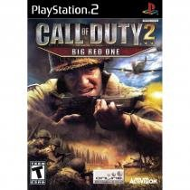 Call of duty 2 big red one - ps2 - Sony