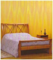 Cama 1,60 x 2,00 x 1,27 - Madeira Maciça - Moveis de Gramado - Flávio móveis gramado