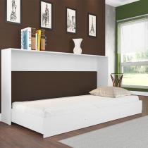 Cama Articulável Quarto Solteiro Sun Branco - Art In Móveis -