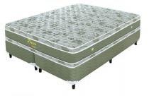 Cama Box (Box+Colchão) Casal Prolastic 193x203x60 King Verde - Celiflex