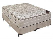 Cama Box (Box + Colchão de Molas) Americanflex King Multidecor One Face 193 x 203 x 69 cm - AMERICANFLEX