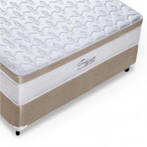 Cama Box Casal (Box + Colchão) Molas Ensacadas 138x188x70cm - Celiflex