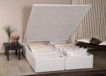 Cama Box Casal Ortobom Americana Bau Cori Bianco 1380x1880x0390 -