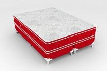 Cama Box + Colchão King Size Newsonno Molejo Pocket Glamour 193x203x60 - New Sonno