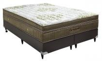 Cama Box+Colchão King Size Ortobom Gold Ultragel 186x198x57 -