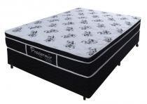Cama Box + Colchão Pro Dormir Probel Molejo Black 138x188x51 -