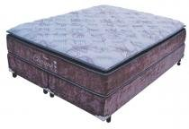 Cama Box + colchão Queen Size Probel Charme 1580x1980x0610 - Probel