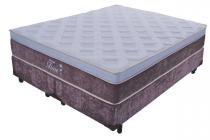 Cama Box + Colchão Queen Size Probel Fiore 1580X1980X0520 - Não definido
