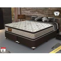 Cama Box King Size Good Like Molas Ensacadas e Euro Top Duplo - Firme - Gazin - 193x203x73 - Gazin