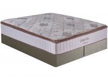 Cama Box Queen Size (Box + Colchão) Kappesberg - Mola 34cm de Altura Viena