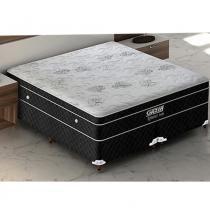 Cama Box Queen Size Romance Molas Ensacadas c/ Europillow - Gazin Firme - 158x198x69 - Gazin