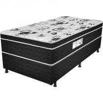 Cama Box Solteiro Born Black - Probel -