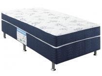 Cama Box Solteiro Ortobom Conjugado 43cm de Altura - Physical Blue