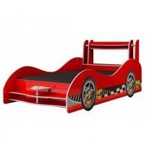 Cama Carro Flash Vermelho Sem Rodas - Gelius - Vermelha - Gelius