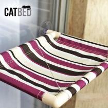 Cama Catbed Gatton para Gatos Listrada Roxo - Gatton