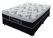 Cama + Colchão Queen Size Pro Dormir Probel Black 158x198x55 - Probel