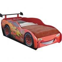 Cama com Aerofólio Carros Disney Star Pura Magia Vermelho - Pura Magia