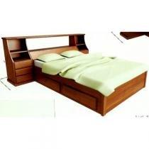 Cama de Casal Madeira Maciça 1,40 x 1,90 - Flávio móveis gramado