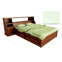 Cama de Casal Queen Size 1,60 x 2,00 Madeira Maciça - Flávio móveis gramado