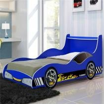 Cama de Solteiro Carro Tuning - Gelius - Azul - Gelius