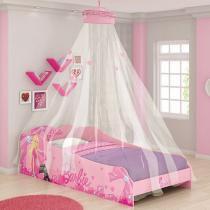 Cama Infantil 93X194cm - Pura Magia Barbie Plus