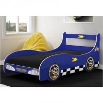 Cama Infantil Carro Rally Azul - Gelius -