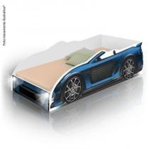 Cama Infantil Carro Sport com LED - Azul - Divaloto