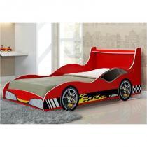 Cama Infantil Carro Tunning Vermelho - Gelius -