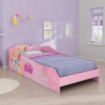 Cama Infantil Princesas Disney Plus - 100 MDF - Pura Magia - Pura Magia