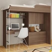 Cama Multifuncional 1 Gaveta - Art In Móveis Office