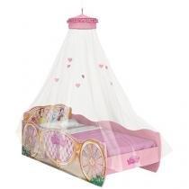 Cama Solteiro 88x188cm Pura Magia Star - Princesas Disney