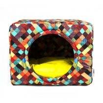 Cama Toca Premium Pet para Cachorro e Gato (G) - Colors Amarelo - Senhor bicho