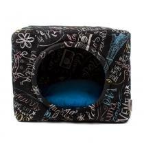 Cama Toca Premium Pet para Cachorro e Gato (G) - Lousa Azul - Senhor bicho