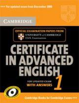 Cambridge Certificate In Advanced English 1 Sb - 1