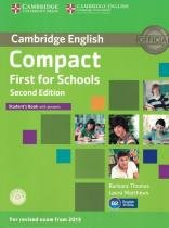 Cambridge english compact first for schools sb with cd-rom - 2nd ed - Cambridge university