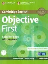 Cambridge english objective first sb with answers  cd-rom - 4th ed - Cambridge university