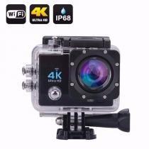 Camera Action Go Cam Pro Sport Ultra 4k Com Bastao De Selfie - Importado