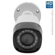 Câmera Bullet Infravermelho Híbrida HB Tech HB-401 HD 720p - Multi HD - HDCVI, HDTVI, AHD, ANALÓGICO -