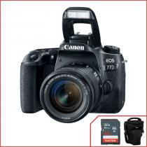 Camera Canon 77D com 18-55mm f/4-5.6 IS STM - Canon
