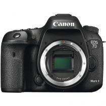 Câmera Canon DSLR EOS 7D Mark II - Corpo - Canon