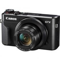 "Câmera Canon PowerShot G7X Mark II, 20.1MP, 3"", Touch, Wi-Fi - Preta -"