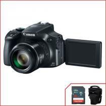 Camera Canon PowerShot SX60 HS + Cartão SanDisk 16GB + Bolsa -