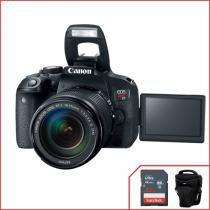 Câmera Canon T7i Wifi Kit com 18-135mm IS STM -