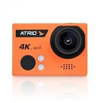 Câmera De Ação Atrio Fullsport Cam 4k Dc185 Laranja -