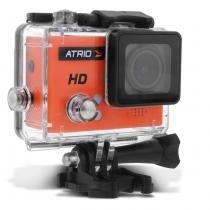 Câmera de Ação Filmadora Atrio FullSport Cam HD 720p 5mp Entradas USB SD Case à Prova DÁgua DC186 -