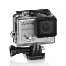 Câmera de Ação Mirage Sport HD + Cartão de Memória 16GB - MR3000 -