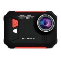 Câmera de Ação Xtrax Evo Vermelha - XTRAX